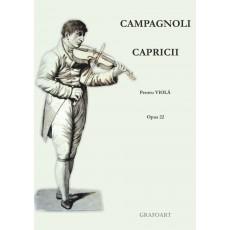 Campagnoli - Capricii pentru viola