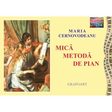 Cernovodeanu M. - Mică metodă de pian (ed. a VII-a) color