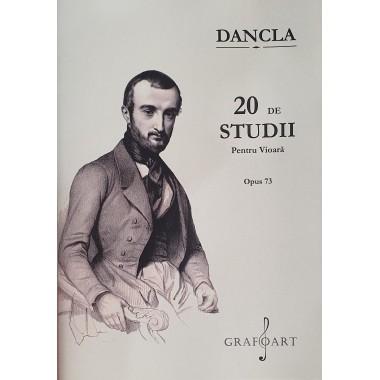 Dancla - 20 de studii pentru vioara (Op. 73)