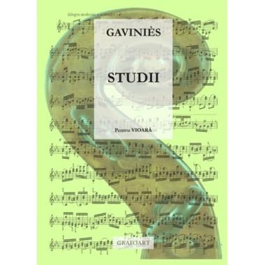 Gavinies - Studii (Capricii)