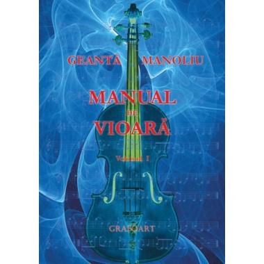 Geanta, Manoliu - Manual de vioara vol. I