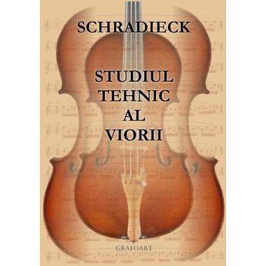 Schradieck - Studiul tehnic al viorii
