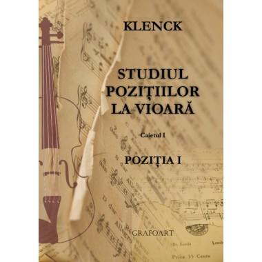 Klenck - Studiul pozitiilor la vioara, Pozitia 1 C 1