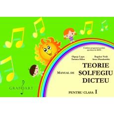 Manual de Teorie, Solfegiu, Dicteu pt. Clasa I