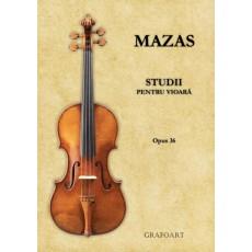 Mazas - Studii pentru vioara