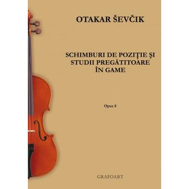 O.Sevcik - Schimburi de pozitie op. 8