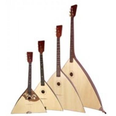Diverse Instrumente Etnice